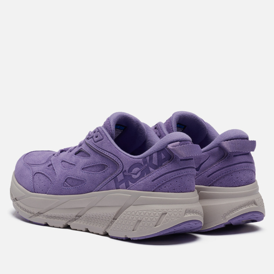 Кроссовки Hoka One One Clifton Suede Chalk Violet/Lilac Ash