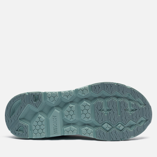 Мужские кроссовки Hoka One One Clifton Suede Grey Mist/Misty Blue