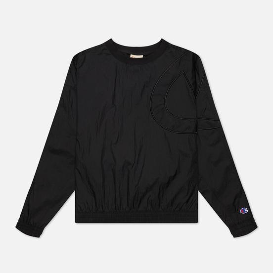 Женская толстовка Champion Reverse Weave Oversized C Logo Track Black