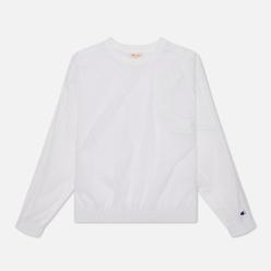Женская толстовка Champion Reverse Weave Oversized C Logo Track White