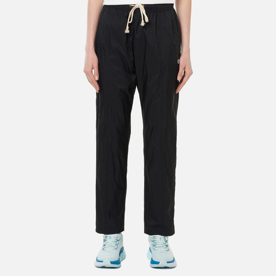 Женские брюки Champion Reverse Weave Tape Detail Slim Fit Track Black