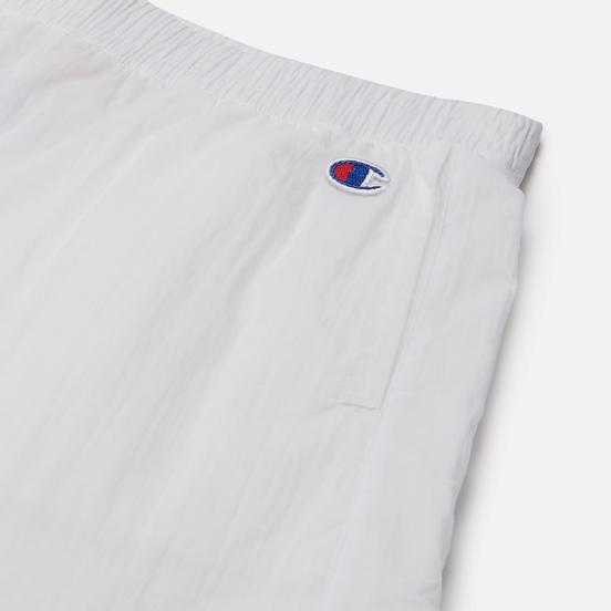Женские шорты Champion Reverse Weave Tape Detail Track White
