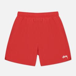 Мужские шорты Stussy Stock Water Red
