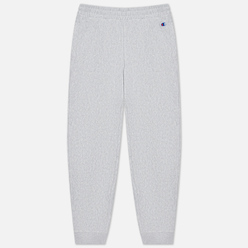 Женские брюки Champion Reverse Weave Ribbed Cuffed Stretch Joggers Light Grey
