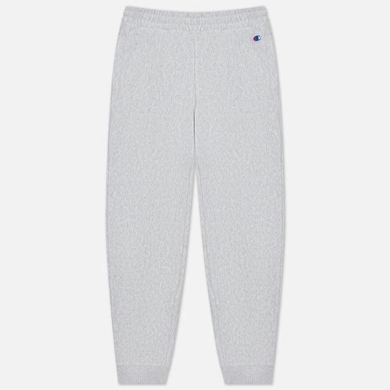 Женские брюки Champion Reverse Weave Ribbed Cuffed Stretch Joggers Light Grey