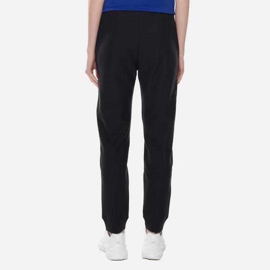 Женские брюки Champion Reverse Weave Ribbed Cuffed Stretch Joggers Black