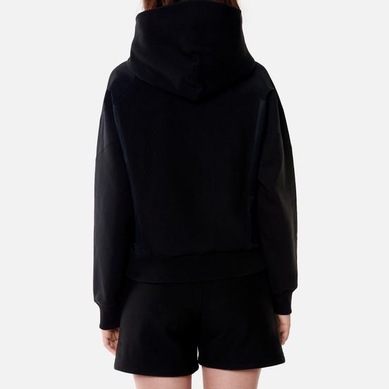 Женская толстовка Champion Reverse Weave Poly Brushed Fleece Hoodie Black