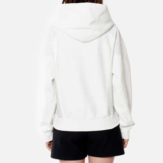 Женская толстовка Champion Reverse Weave Poly Brushed Fleece Hoodie White