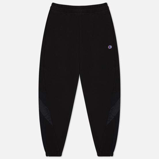 Женские брюки Champion Reverse Weave Poly Brushed Fleece Elastic Cuff Black