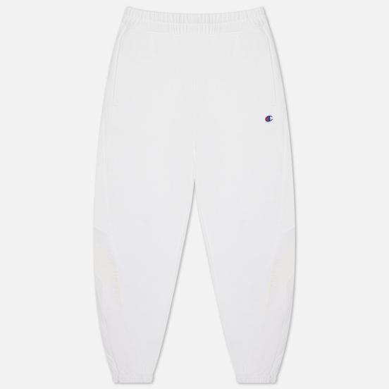 Женские брюки Champion Reverse Weave Poly Brushed Fleece Elastic Cuff White