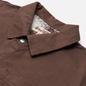 Мужская джинсовая куртка Stussy Spotted Bleach Chore Brown фото - 1