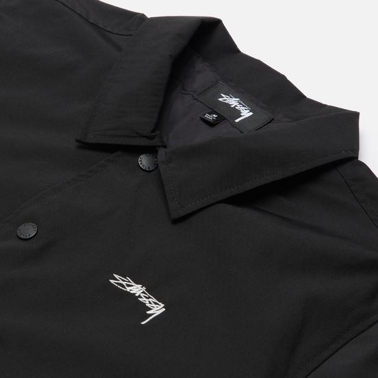 Мужская куртка ветровка Stussy Classic Embroidered Coach Black