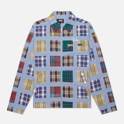 Мужская куртка Stussy Madras Patchwork Zip Plaid