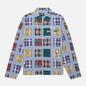 Мужская куртка Stussy Madras Patchwork Zip Plaid фото - 0