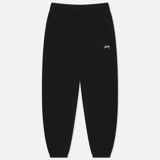 Мужские брюки Stussy Stock Logo Black