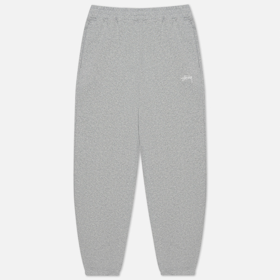 Мужские брюки Stussy Stock Logo Grey Heather