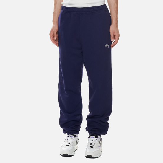 Мужские брюки Stussy Stock Logo Midnight