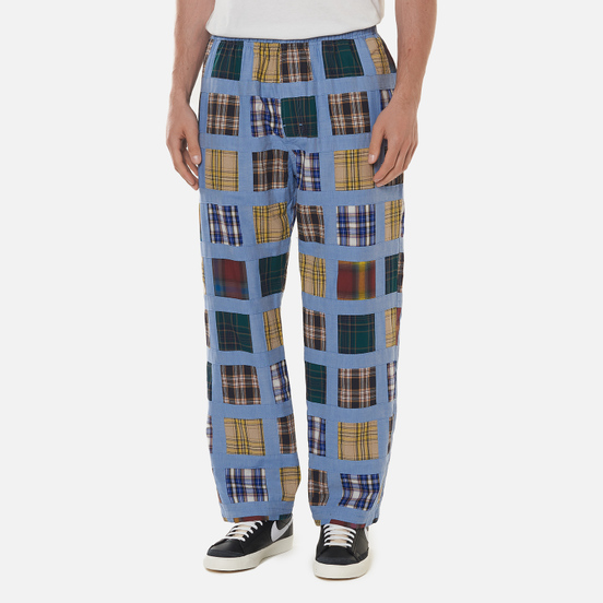 Мужские брюки Stussy Madras Patchwork Relaxed Plaid
