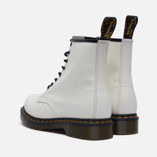 Ботинки Dr. Martens 1460 Smooth Leather White Smooth