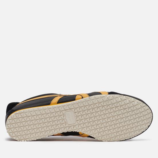 Мужские кроссовки Onitsuka Tiger Mexico 66 Black/Honey Gold