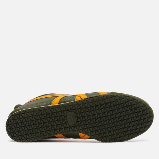 Мужские кроссовки Onitsuka Tiger Mexico 66 Smog Green/Amber