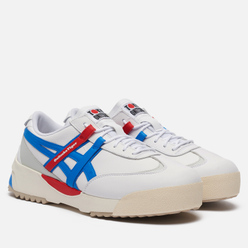 Кроссовки Onitsuka Tiger Delegation EX White/Electric Blue