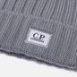 Шапка C.P. Company Extra Fine Merino Wool Logo Moon Mist фото - 1