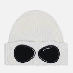 Шапка C.P. Company Extra Fine Merino Wool Goggle Gauze White