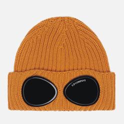 Шапка C.P. Company Extra Fine Merino Wool Goggle Desert Sun