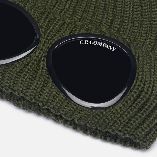 Шапка C.P. Company Extra Fine Merino Wool Goggle Stone Grey