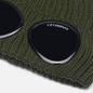Шапка C.P. Company Extra Fine Merino Wool Goggle Stone Grey фото - 1