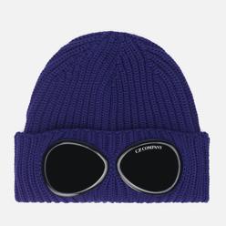Шапка C.P. Company Extra Fine Merino Wool Goggle Blueprint