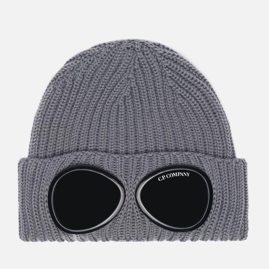 Шапка C.P. Company Extra Fine Merino Wool Goggle Moon Mist