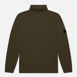 Мужской свитер C.P. Company Merino Wool Roll Neck Knit Stone Grey