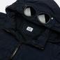 Мужская куртка C.P. Company Chrome-R Detachable Goggle Overshirt Total Eclipse фото - 1