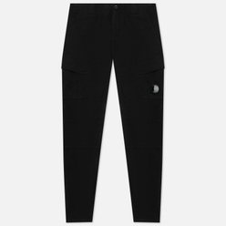 Мужские брюки C.P. Company Stretch Sateen Cargo Black