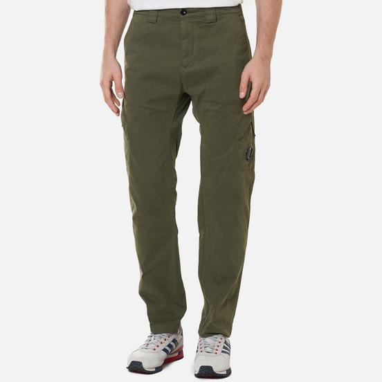 Мужские брюки C.P. Company Stretch Sateen Utility Stone Grey