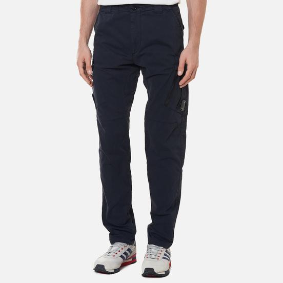 Мужские брюки C.P. Company Stretch Sateen Tapered Total Eclipse