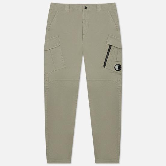 Мужские брюки C.P. Company Stretch Sateen Tapered Moon Mist