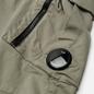 Мужские брюки C.P. Company Stretch Sateen Tapered Moon Mist фото - 1