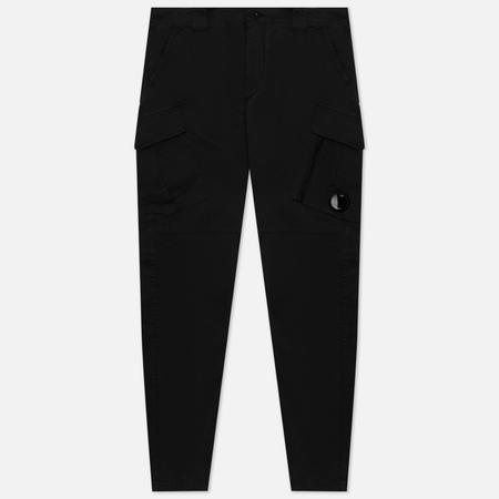 Мужские брюки C.P. Company Stretch Sateen Tapered, цвет чёрный, размер 50