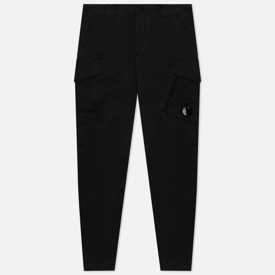 Мужские брюки C.P. Company Stretch Sateen Tapered Black