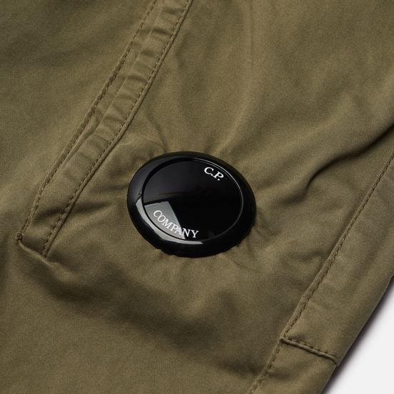 Мужские брюки C.P. Company Stretch Sateen Fitted Stone Grey