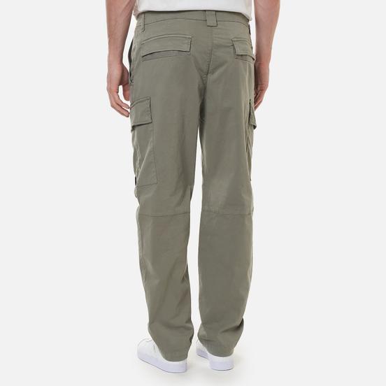 Мужские брюки C.P. Company Stretch Sateen Fitted Moon Mist