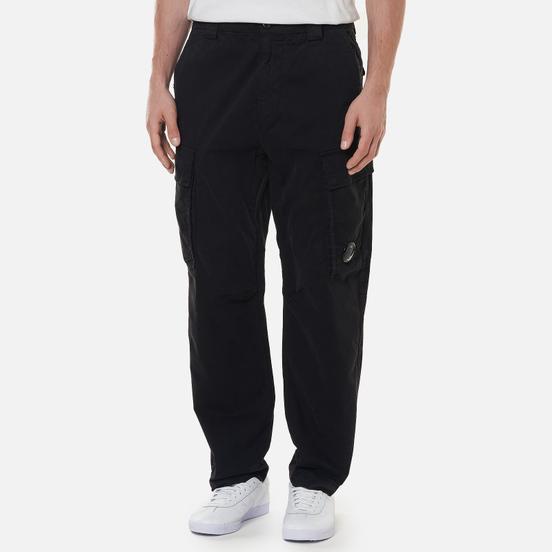 Мужские брюки C.P. Company Stretch Sateen Fitted Black