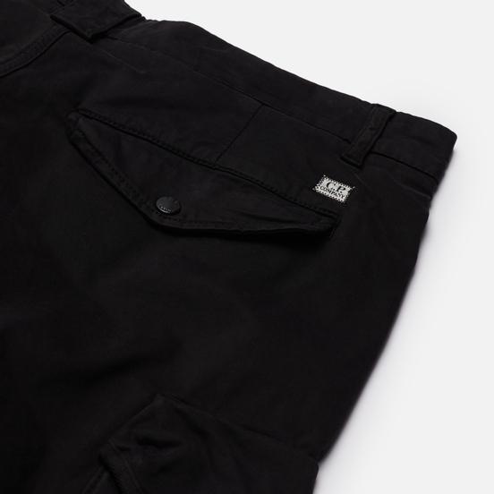 Мужские брюки C.P. Company Stretch Sateen Cargo Loose Fit Black