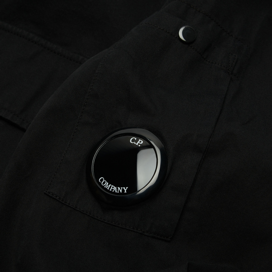 Мужская рубашка C.P. Company Gabardine Utility Black