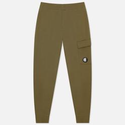 Мужские брюки C.P. Company Diagonal Raised Fleece Stone Grey
