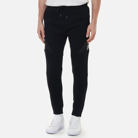 Мужские брюки C.P. Company Diagonal Raised Fleece Utility Black