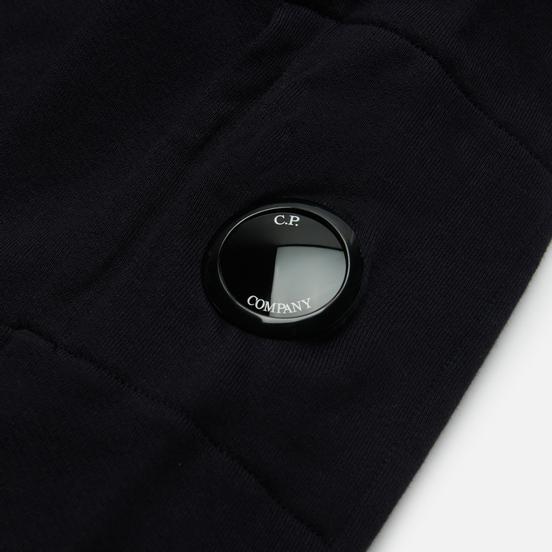 Мужская толстовка C.P. Company Diagonal Raised Fleece Utility Total Eclipse